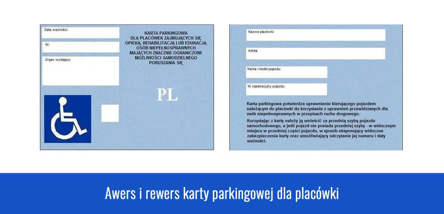 Karta Parkingowa dla Placówek